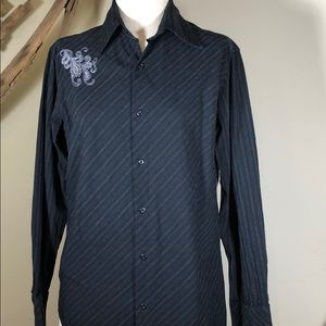 Men's Untouchable embroidered shirt - size large